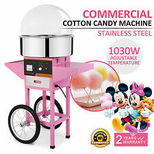 COMMERCIAL COTTON CANDY MACHINE FLOSS MAKER ELECTRIC PARTY CARNIVAL PROFESSIONAL