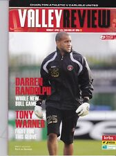 Charlton Athletic Home Programmes 2009/2010