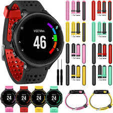 Silicone Bracele Wrist Watch Band Strap Replacement For Garmin Forerunner