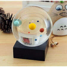 Astronomical Gift Galaxy 8 Planets Solar System Planet Crystal Ball Decor 4732
