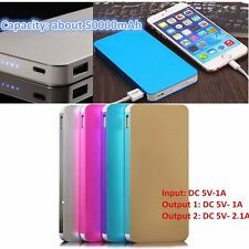 Ultrathin 50000mAh External Power Bank Backup Battery Charger for Phones DurabXT