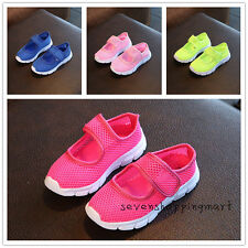 New Girls Summer Outdoor Casual Shoes Kids Children Mesh Single Shoes Sandals