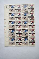 US Postage Stamps 1 Sheet Scott  #1795 - 98 WINTER OLYMPICS 1980  15 Cent  MNH
