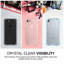Shockproof Crystal Soft TPU Slim Bumper Protector Clear Case For Apple iPhone 7