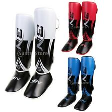 Pro Shin Foot Guards Shin Instep Pads Kickboxing Muay Thai MMA Protector