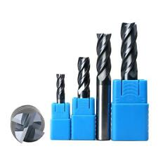 Replacement Tungsten Steel Straight Shank End Mill Cutter Milling Machine Cutter
