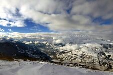 Les Arcs Paradiski area French Alps France photograph picture poster print photo