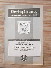 Derby County Programmes