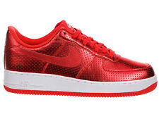 NEW MENS NIKE AIR FORCE 1 LV8 BASKETBALL SHOES TRAINERS ACTION RED / WHITE / ACT
