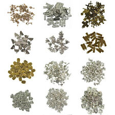 Wholesale 50pcs Bulk Lots Tibetan Silver Mix Charm Pendants Jewelry Findings DIY