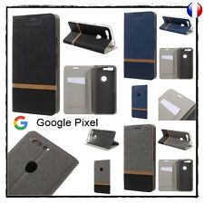 Etui porte-carte coque housse card holder Wallet Cover case Google Pixel