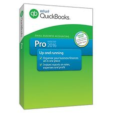 QuickBooks Pro 2016 Small Business Accounting Software with Free QuickBooks Onli