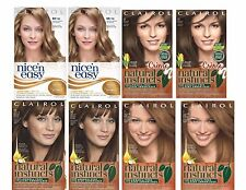 Clairol Natural Instincts/Nice'n Easy Hair Color, Choose your Shade 4 bottles