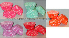 YOUR CHOICE! 50ct. POLKA DOT Cupcake Liners Baking Cups STANDARD SIZE Hot!