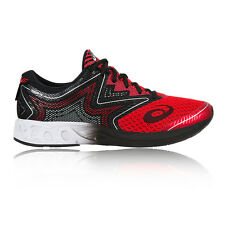 Asics Noosa FF Mens Red Black Cushioned Running Sports Shoes Trainers Pumps