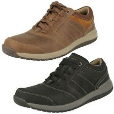 Mens Clarks Casual Lace Up Shoes 'Ryley Street'