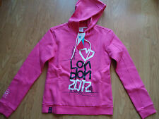 TEAM GB LONDON 2012 OLYMPICS PINK HOODIE 9-10 YRS BNWT