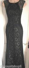 Michelle Keegan Lipsy @ASOS Sequin Gold Black Lace Panel Maxi Dress RRP £75