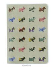 Santoro Eclectic 'Scottie Dogs' A5 Stitched Notebook with Cover