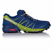 Salomon Speedcross Mens Blue Water Resistant Trail Running Shoes Trainers