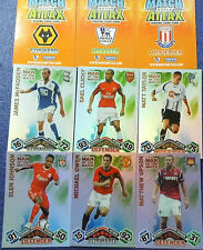 MATCH ATTAX 2009/10 FOOTBALL CARDS MAN OF THE MATCH (orange backs)