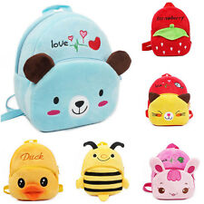 Kids Toddler Child Kindergarten Kids Cartoon School Bag Backpack New