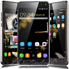"Unlocked 5"" Touch Android 4.4 CellPhone Dual Core Dual SIM Smart Mobile WIFI New"
