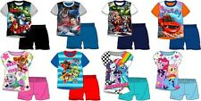 Boys / Girls Character Superhero Short Pyjamas (Age 3 4 5 6 7 8 9 10 Yrs)