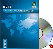 2009 International Residential Code (IRC) One and Two-Family Dwellings PDF CD