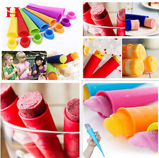 DIY Silicone Push Up Ice Cream Jelly Lolly Pop For Popsicle Maker Mould Mold