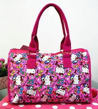 New Hellokitty Canvas Shopping Shoulder Handbag Bag Tote HandBag 6303b