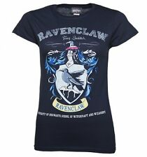 Official Women's Navy Harry Potter Ravenclaw Team Quidditch T-Shirt