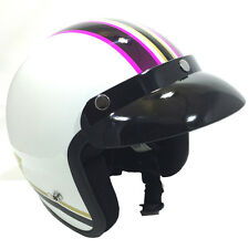 Viper RS-04 Open Face Motorbike Motorcycle Helmet Scooter Moderna Pink Touring