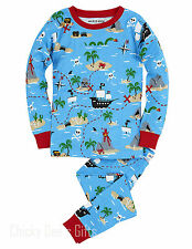 Hatley Kids PJ Pajama Set TREASURE ISLAND Pirate