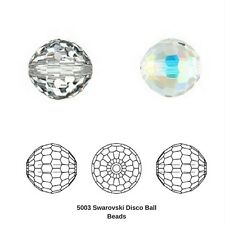 Swarovski dazzling and very rare vintage crystals - Art5003 40 mm Crystal 6 pcs