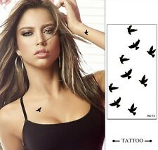 6 Styles Sexy DIY Fashion Body Art Waterproof Elegant Temporary Tattoo Sticker D