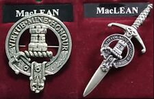 MacLean Scottish Clan Crest Badge or Kilt Pin Ships free in US