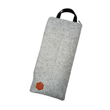 S Grey Felt Travel Carry Storage Bag Package Dust Case for Mechanical Keyboard