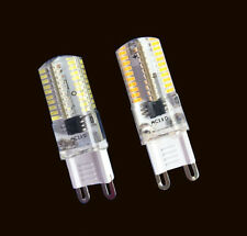1PC /10PCS G9 Dimmable Light bulb 80LED 3014 SMD 110/220V Lamp Silicone Crystal