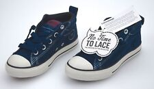 CONVERSE ALL STAR BOY JUNIOR SNEAKER SLIP ON SHOES BLUE SUEDE CODE 628739C