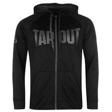 Mens Branded Tapout Soft Fleece Lined Strike Full Zip UFC MMA Hoody Top