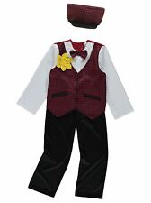 Traditional Welsh Boys Fancy Dress Outfit Costume St David's Day Wales Daffodil