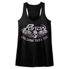 POISON - Old School Rock n Roll JUNIORS Racerback Tank Top S-XL
