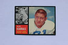 1962 Topps Football #58 Alex Karras Detroit Lions EX/MT