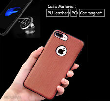 Luxury PU Leather Cover Case With Magnetic Car For Apple iPhone 7 7 Plus