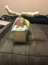 Motorcycle Diaper Cake boy girl unisex- made to order
