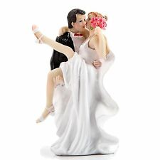 Bride and Groom, Wedding Cake Topper, Funny The Mad in Love Romantic