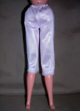BARBIE WHITE PANTALOONS LONG BLOOMERS SCARLETT ACCESSORY FOR DOLL NEWLY DEBOXED