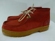 Havana Joe Spain red suede leather ankle Chukka Boots laceUp shoes mens sz 47 13