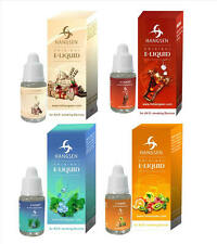HANGSEN TOBACCO E LIQUID SHISHA JUICE REFILL ZERO VAPE/OIL 0-18mg 10ml